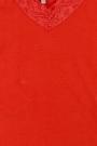 Camiseta tirantes con puntilla