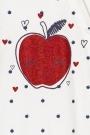 Pelele con estampado de manzanas