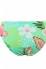 Braguita bañador niña tonos verdes y rosa