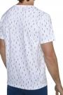 Camiseta con estampado marinero