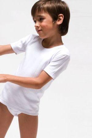 Camiseta de manga corta de niño de Rapife