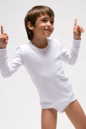 Camiseta de manga larga de niño de Rapife