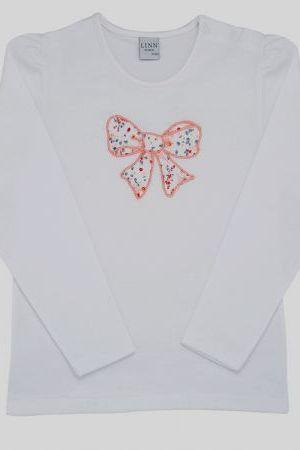 Camiseta con lazo algodón