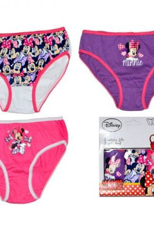 Pack 3 bragas de Minnie Mousse